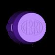Arri-B-cap-v2c-logo-inset.stl Download STL file Arri-S & Arri-B rear lens cap • 3D printer model, vintage-lens