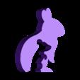 hund_katz_hase_maus_h.STL Download free STL file Animal Silhouette - Dog Cat Rabbit Mouse • 3D printing template, jtronics
