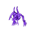Horror2_2.stl Download free STL file Magenta (or Blue) Nightmares With Aggressive Jazz Hands • 3D printer design, Worldhopper
