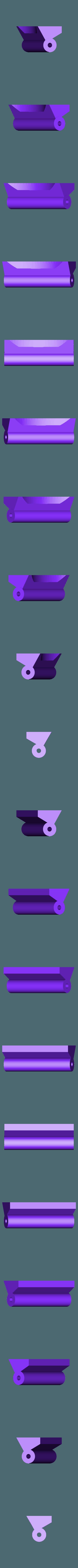 DoorHinge.door.hinge.stl Télécharger fichier STL gratuit Charnière de porte de voûte à retombées et base creuse, remixé • Design à imprimer en 3D, FelixTheCrazy