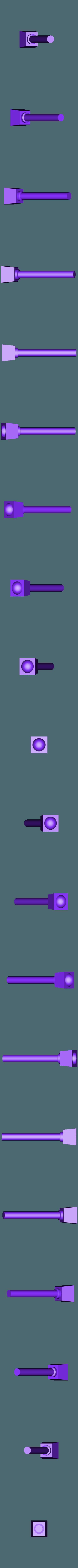 PistonRodFoot.stl Télécharger fichier STL gratuit Pistons ajustables pour les types de soldats interstellaires chez les chiens de guerre géants • Objet imprimable en 3D, FelixTheCrazy