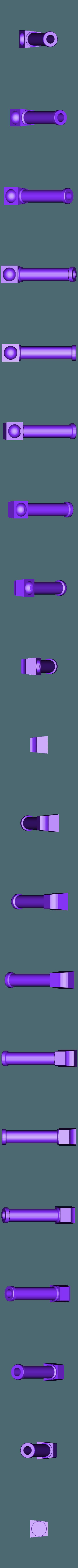 PistonBarrelLong.stl Télécharger fichier STL gratuit Pistons ajustables pour les types de soldats interstellaires chez les chiens de guerre géants • Objet imprimable en 3D, FelixTheCrazy