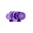 ChainGunBarrel.Left.stl Download free STL file Chaingun, more pew-pew for you-you • Object to 3D print, FelixTheCrazy