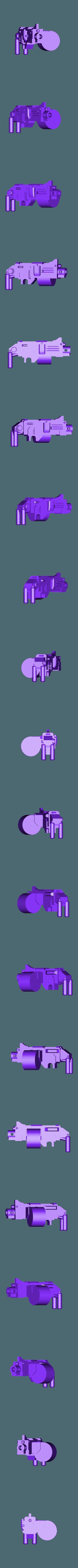 SpeederMachineGun.stl Download free STL file Angry Air - Frugal Displeased Soldier Deployment Vessel • 3D printing model, FelixTheCrazy