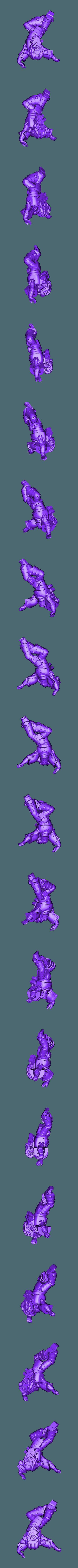 SpeederAM1.stl Download free STL file Angry Air - Frugal Displeased Soldier Deployment Vessel • 3D printing model, FelixTheCrazy