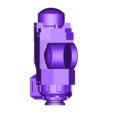 Print-PlasmaRearUpper.stl Download free STL file Windup Automated Mausoleum for Nearly Dead Oversized Interstellar Jarheads • 3D printable template, FelixTheCrazy