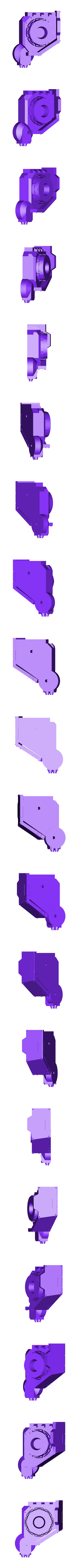 Print-TorsoR.stl Download free STL file Windup Automated Mausoleum for Nearly Dead Oversized Interstellar Jarheads • 3D printable template, FelixTheCrazy