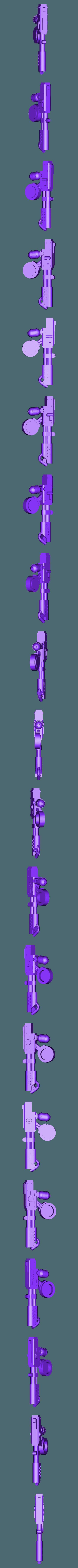 Flamer.stl Download free STL file Chrono Trigger Shoulder Mounted Flamer • 3D printable object, FelixTheCrazy