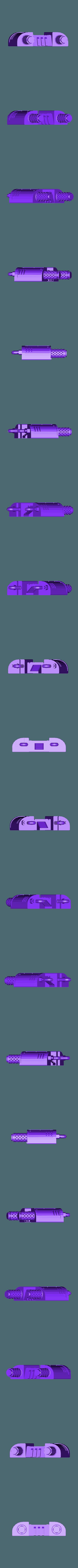 back.stl Download free STL file Super Breaking and Entering Boxy Robot • 3D printer model, bentanweihao
