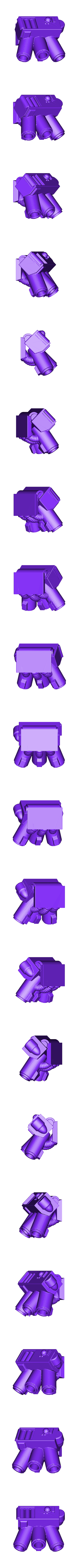 smoke_grenade.stl Download free STL file Super Breaking and Entering Boxy Robot • 3D printer model, bentanweihao