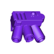 grenade_launcher.stl Download free STL file Super Over-Compensating Boxy Robot • 3D printing template, bentanweihao