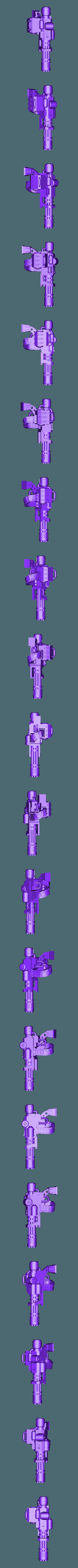 Chain_Gun__L_.stl Download free STL file Ultra Inquisitive and Super Pious Mega (and Slightly Insecure) Arachnid • 3D printer design, bentanweihao