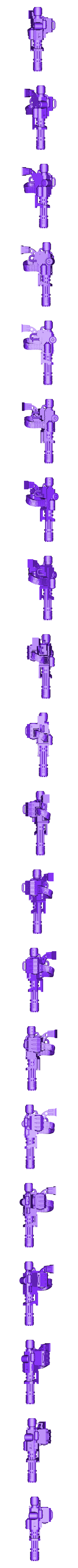Chain_Gun__R_.stl Download free STL file Ultra Inquisitive and Super Pious Mega (and Slightly Insecure) Arachnid • 3D printer design, bentanweihao
