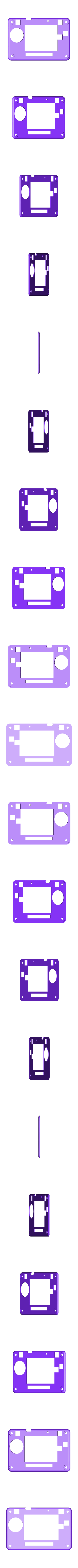 pybadge-front.stl Download free STL file PyBadge NES GamePad • 3D printing object, Adafruit