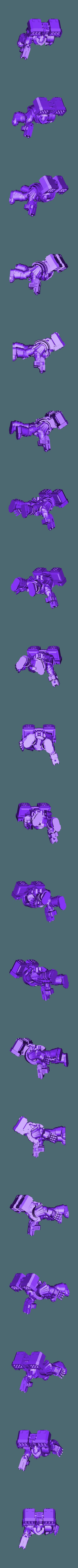 Tyrant.stl Download free OBJ file Legion Elites - 4th Legion Siege Breakers • 3D printable model, ThatEvilOne