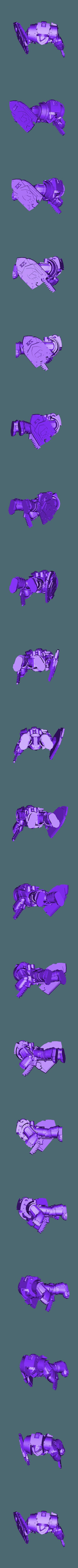 Render_repaired.stl Download free STL file Legion Elites - 7th Legion Vigil Wardens • Design to 3D print, ThatEvilOne