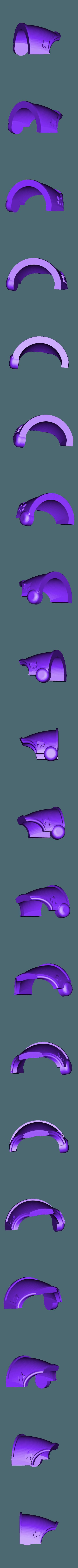 Shoulder_Right_repaired.stl Download free STL file 1000 Followers! 3rd Legion - FireBird Terminators • 3D printing model, ThatEvilOne