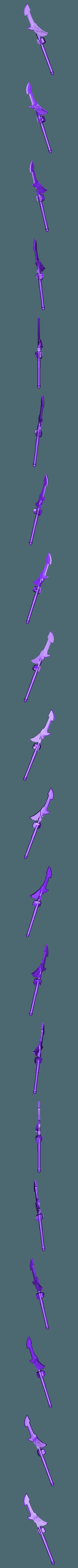 Spear_Left_hand_repaired.stl Download free STL file 1000 Followers! 3rd Legion - FireBird Terminators • 3D printing model, ThatEvilOne