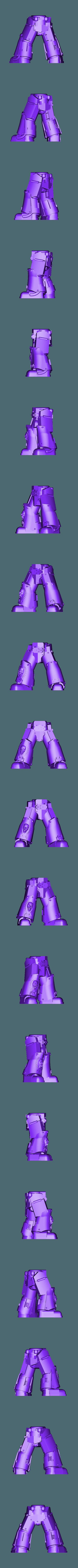 Legs_1_repaired.stl Download free STL file 1000 Followers! 3rd Legion - FireBird Terminators • 3D printing model, ThatEvilOne