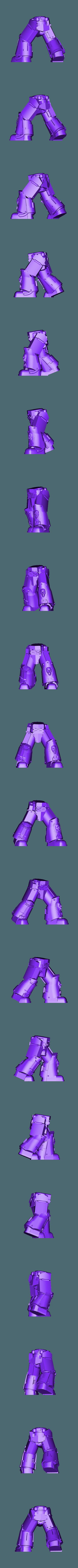 Legs_5_repaired.stl Download free STL file 1000 Followers! 3rd Legion - FireBird Terminators • 3D printing model, ThatEvilOne