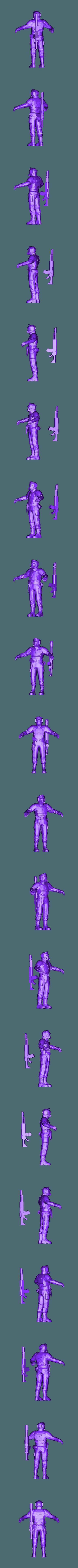 ThatEvilOnes_Printable_Cadian_Base.obj Download free OBJ file Community Guardsmen Project Hub • Design to 3D print, ThatEvilOne