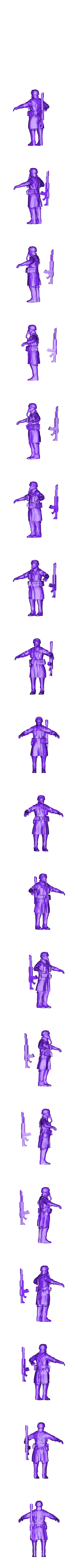 ThatEvilOnes_Printable_Steel_Legion_Trooper_Base.obj Download free OBJ file Community Guardsmen Project Hub • Design to 3D print, ThatEvilOne