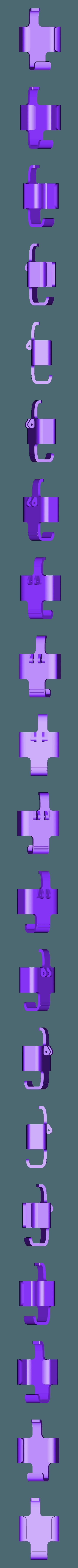 Press_Body_SmartkeyBeltClip.stl Télécharger fichier STL gratuit Clip de ceinture pour Prius Smartkey (étui) • Plan pour impression 3D, Djindra