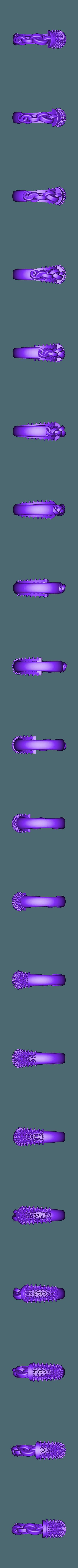 1x.stl Télécharger fichier OBJ gratuit Bague de Chaîne avec Pierres Gemmes • Design pour impression 3D, Khatri3D