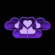 Heart desk tidy.stl Télécharger fichier STL gratuit Coeur de bureau en ordre • Plan imprimable en 3D, Brithawkes