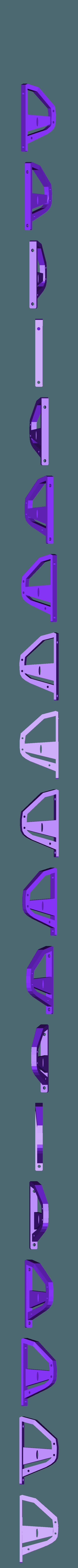 split_x140_15_l.stl Télécharger fichier STL gratuit Helifar X140 Pro - Runcam Split - montage par le haut • Design imprimable en 3D, noctaro