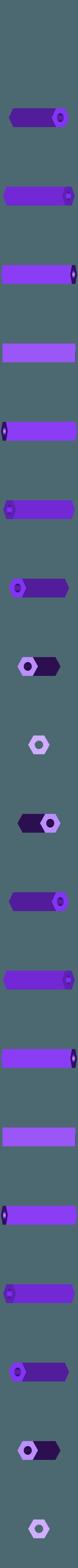 standoff_customizable_04_20190629-57-169uotm.stl Télécharger fichier STL gratuit Helifar X140 Pro - Runcam Split - montage par le haut • Design imprimable en 3D, noctaro