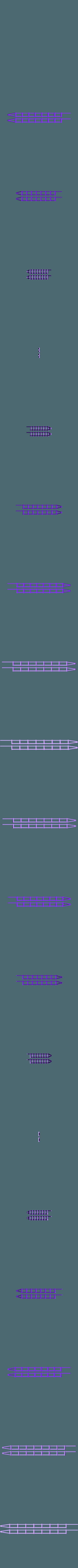 Track_Guard_Rails.stl Download free STL file HO Scale 145 ft Steel Arched Truss Bridge • 3D printer model, kabrumble