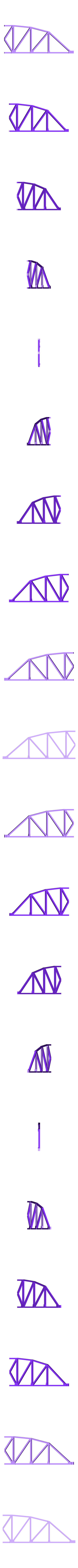 RH_Main_Truss_Section.stl Download free STL file HO Scale 145 ft Steel Arched Truss Bridge • 3D printer model, kabrumble
