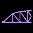 LH_Main_Truss_Section.stl Download free STL file HO Scale 145 ft Steel Arched Truss Bridge • 3D printer model, kabrumble