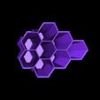 Hex desk tidy.stl Télécharger fichier STL gratuit Bureau hexagonal Tidy • Design pour imprimante 3D, Brithawkes