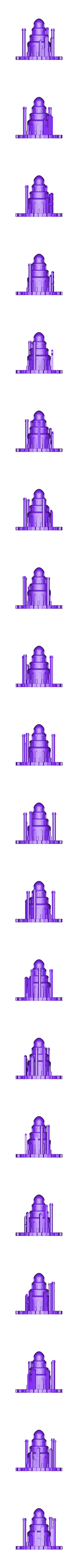 Eagles_Nest_OBJ.obj Télécharger fichier OBJ gratuit Nid d'aigle - Jeu de trônes • Design pour imprimante 3D, 3D-mon
