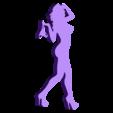 03.stl Télécharger fichier STL Pack Silhouette Sexy • Objet imprimable en 3D, CarlCreates
