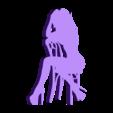 10.stl Télécharger fichier STL Pack Silhouette Sexy • Objet imprimable en 3D, CarlCreates