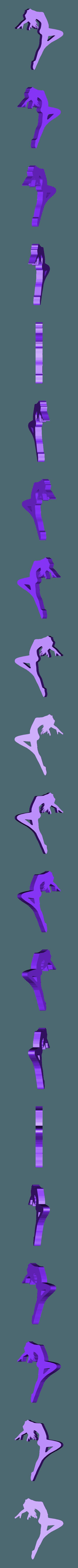 21.stl Télécharger fichier STL Pack Silhouette Sexy • Objet imprimable en 3D, CarlCreates