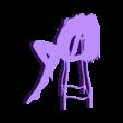 14.stl Télécharger fichier STL Pack Silhouette Sexy • Objet imprimable en 3D, CarlCreates
