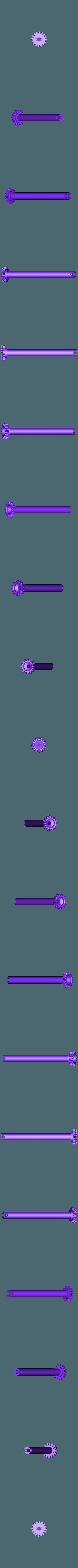 Mercury_Gear.stl Télécharger fichier STL gratuit Système solaire intérieur • Objet pour imprimante 3D, Richard90