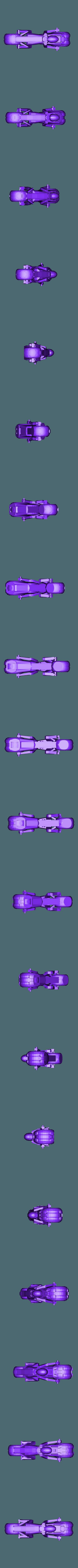 tron_bike_big.stl Download free STL file tron light cycle • Object to 3D print, procreator3D