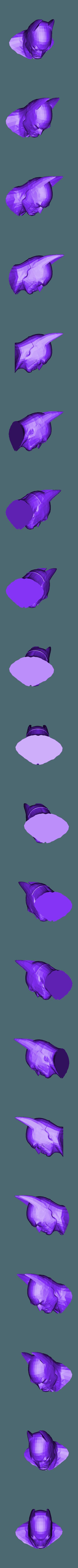batman.stl Download free STL file batman Head • Design to 3D print, procreator3D