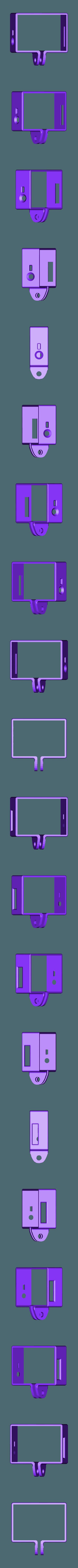 gopro_frame_smaller.stl Télécharger fichier STL gratuit gopro hero3 cadre lumineux mis à l'échelle • Design imprimable en 3D, procreator3D