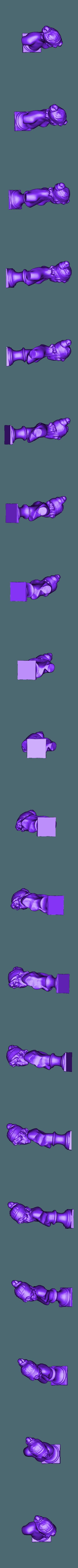 Slic3r_friendly_pt5_scale_tilted.stl Télécharger fichier STL gratuit Buste de Sappho • Design à imprimer en 3D, dodoharrylazarus
