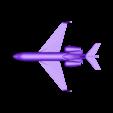 G650ER_-_no_wheels_-_small.stl Download free STL file Gulfstream G650ER • Object to 3D print, dodoharrylazarus