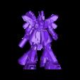sazabi.stl Download free STL file Gundam: Sazabi Ver KA • 3D printer model, Peanut3DButter