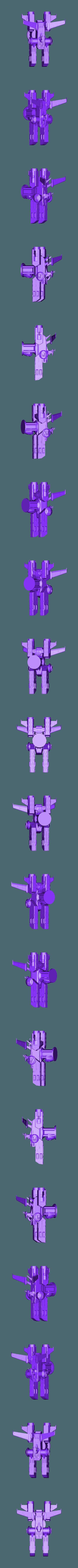 king.stl Download free STL file Gundam Chess set • 3D printing model, Peanut3DButter