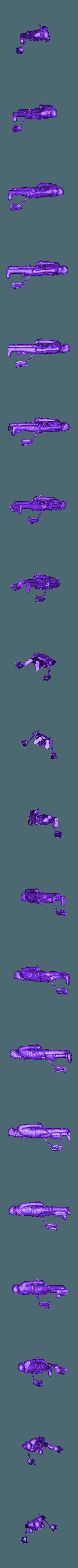 stylized_levi.stl Télécharger fichier STL gratuit Attaque sur Titan : Levi-cleaner • Modèle pour impression 3D, Peanut3DButter