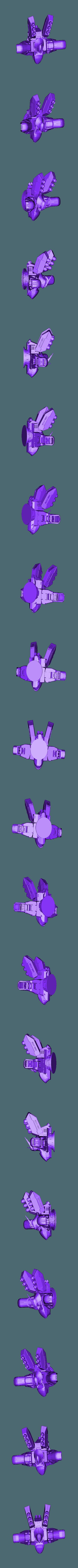 Merge_of_sazabi_Rescaled10_cut_1_Rescaled0.7_Rescaled0.9_Rescaled0.8_Rescaled0.800-1.000-1.000.stl Télécharger fichier STL gratuit Gundam Chess Pieces partie 2 • Modèle imprimable en 3D, Peanut3DButter